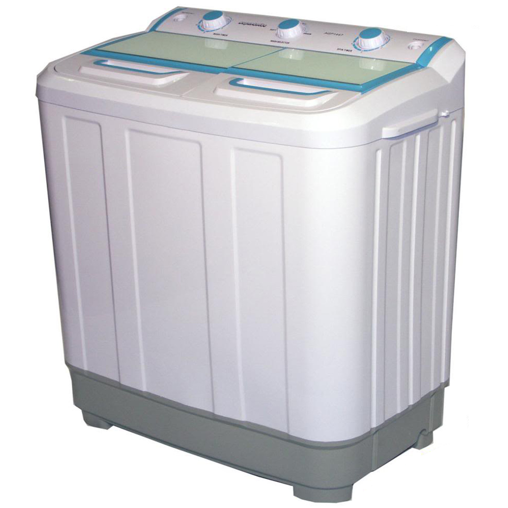 7 2kg Twin Tub Washing Machine on small portable homes